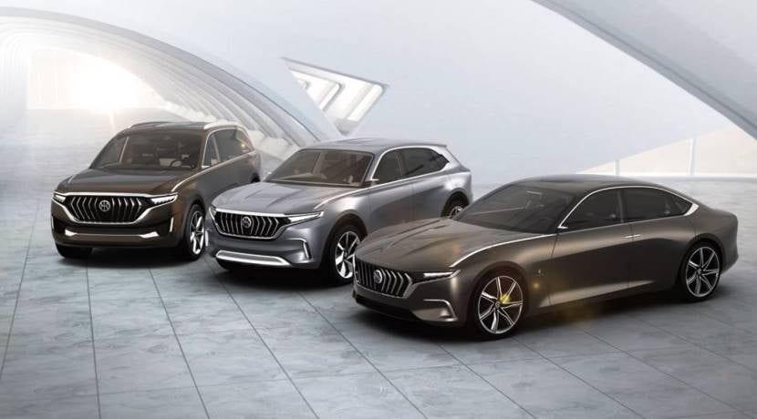 Pininfarina HKG H600 K550 y K750