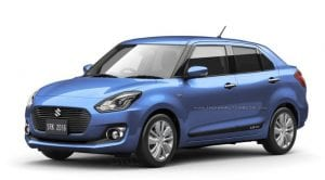 Suzuki Swift Dzire Render