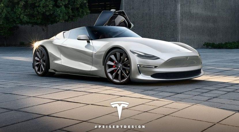Tesla Roadster batería