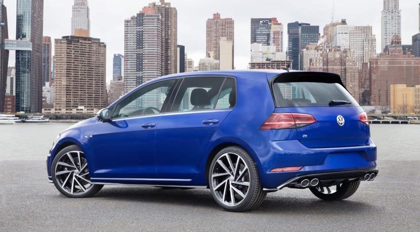 Volkswagen Golf R Auto Show Nueva York