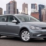 Volkswagen Golf Sportwagen Auto Show Nueva York
