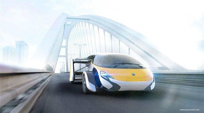 aeromobil coche volador