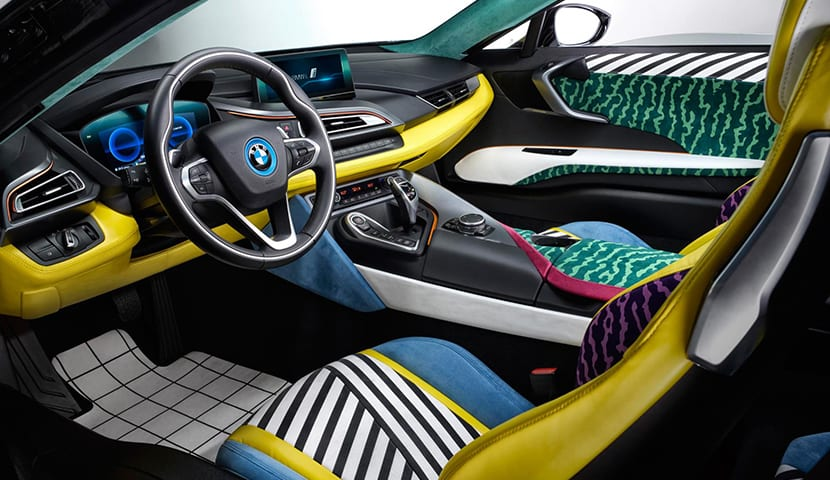 BMW i8 decorado por Garage Italia Customs