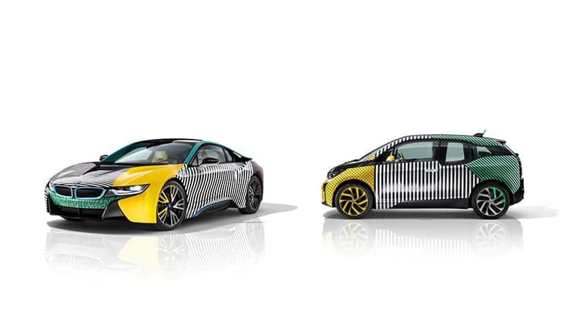 BMW i8 y BMW i8 decorados por Garage Italia Customs