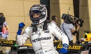 Bottas en el GP de Bahrein 2017