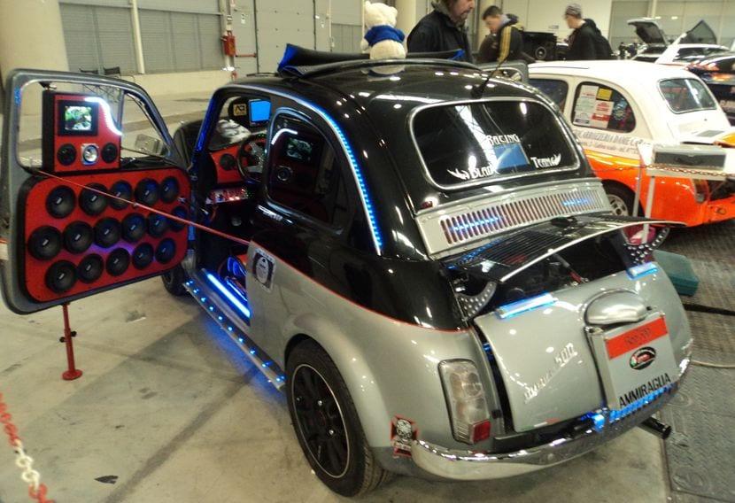 Fiat 500 con modificaciones para la ITV
