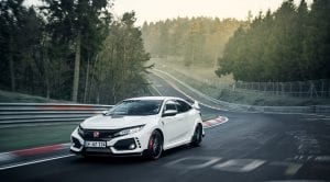 Honda Civic Type R récord en Nürburgring