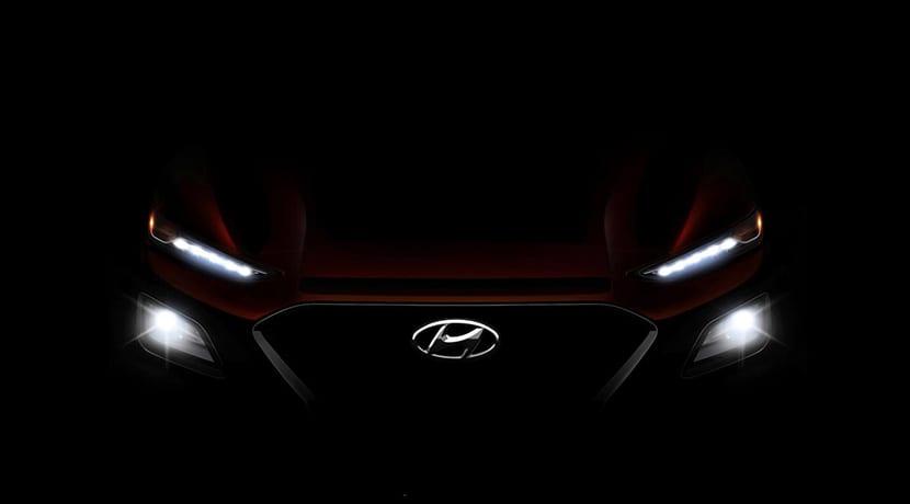 Teaser Hyundai Kona