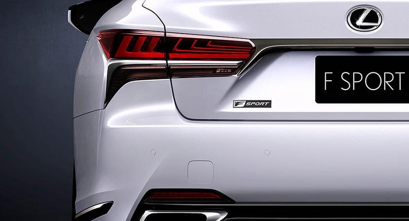 Lexus LS 500 F Sport Teaser