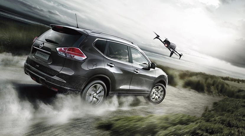 Nissan X-Trail X-Scape con dron incorporado