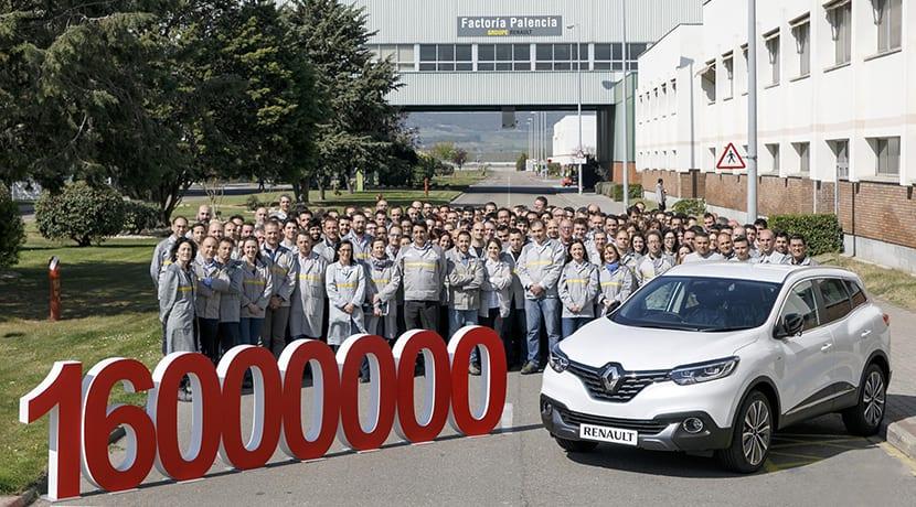 Renault España ha producido 16 millones coches