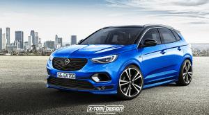Render de un Opel Grandland X por X-Tomi Design