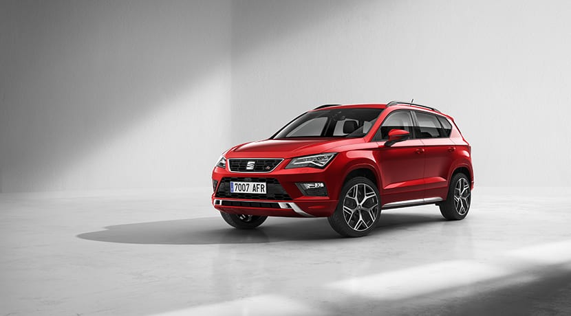 seat ateca fr llega el acabado deportivo al suv espa ol. Black Bedroom Furniture Sets. Home Design Ideas