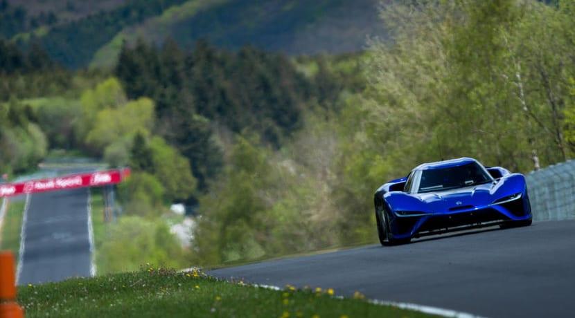 NextEV Nio EP9 Nurburgring