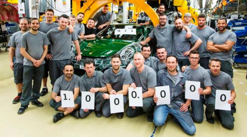 Porsche 911 1 Millon