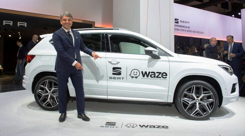 Seat Conectividad Waze Android Auto 1
