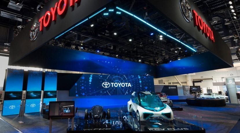 Toyota Coche Autónomo