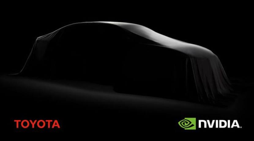 Toyota Nvidia Coche Autónomo