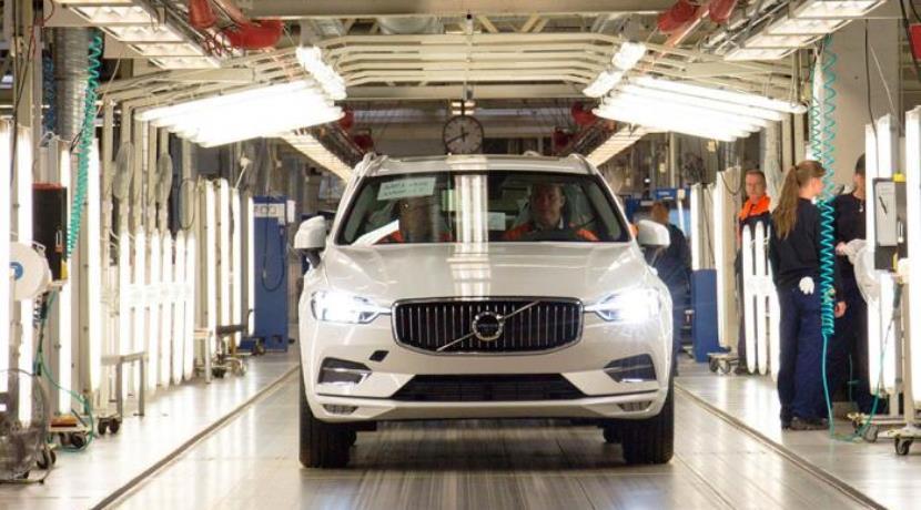 Volvo XC60 producción