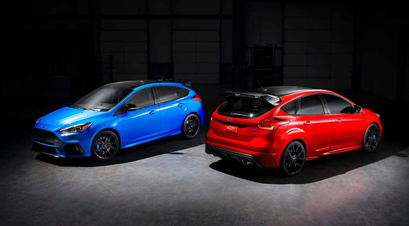Ford Focus RS Limited Edition para el mercado norteamericano