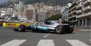 GP de Mónaco 2017 Hamilton