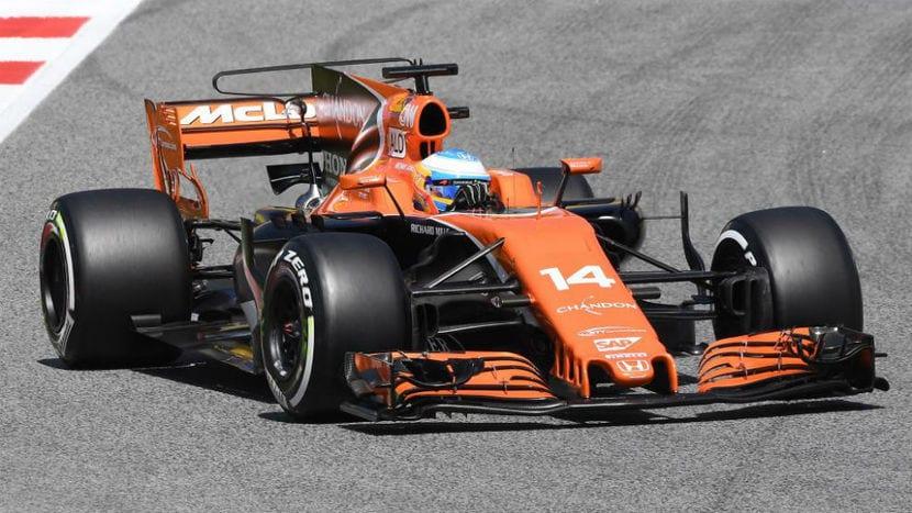 McLaren-Hond MCL32 de Alonso