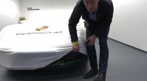 Mark Webber lanza un teaser de un nuevo Porsche
