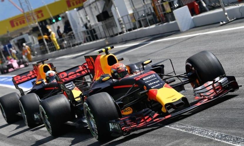 Red Bull en el GP de Mónaco 2017