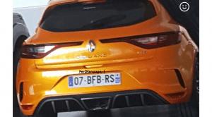 Renault Mégane RS espía