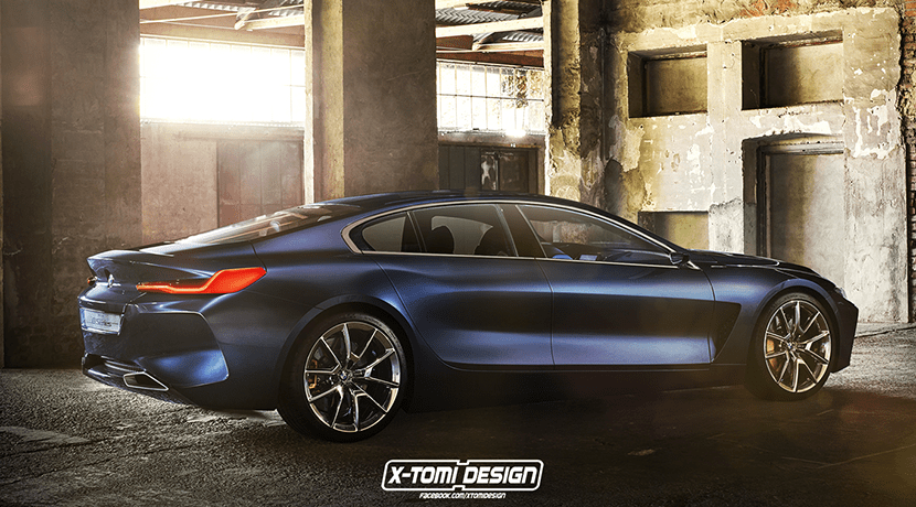 Render BMW Serie 8 Gran Coupe