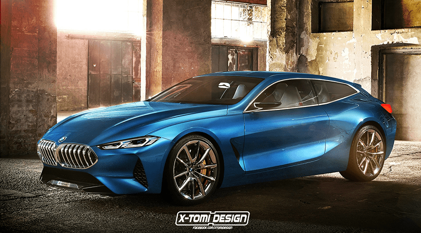 Render BMW Serie 8 Shooting Brake
