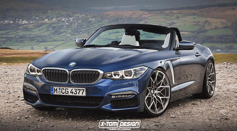 BMW Z4 render por X-Tomi Design