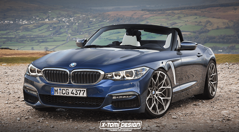 BMW Z4 render por X-Tomi Design