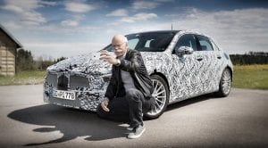 Teaser Mercedes Clase A con Dieter Zetsche