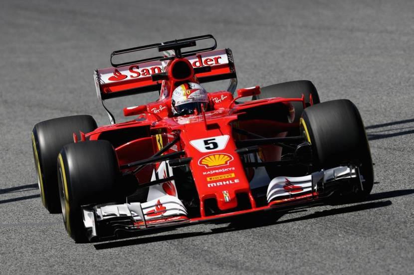 Vettel en el GP de España