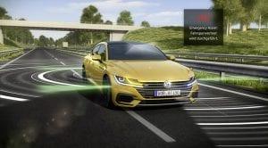Sistema de seguridad Emergency Assist del Volkswagen Arteon