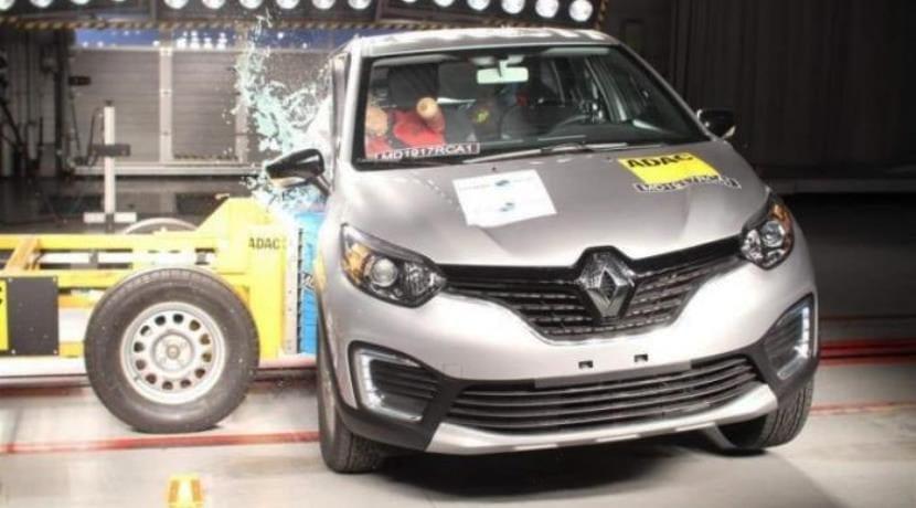 Renault Captur LatinNCAP