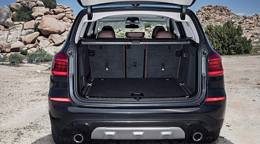 Nuevo BMW X3 maletero