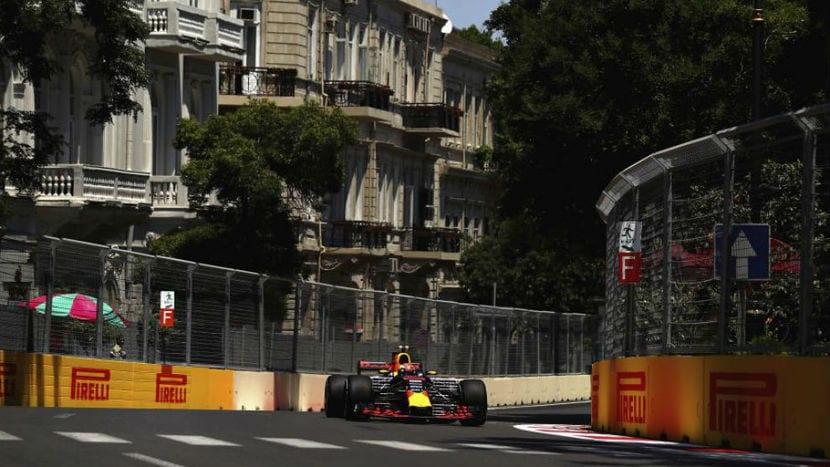 Red Bull en Bakú