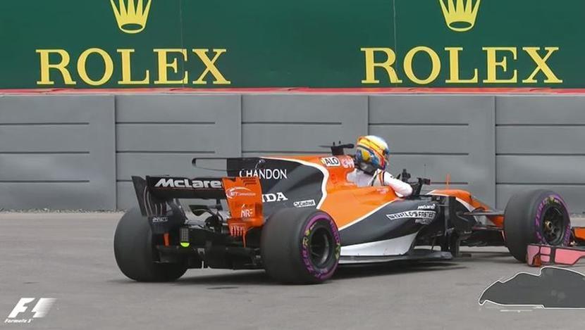 gp de canadá: Alonso parado