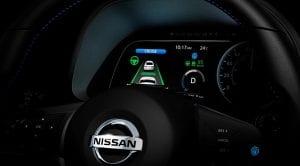 Nissan Leaf con sistema ProPilot