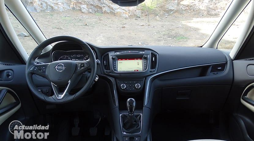 Prueba Opel Zafira 1.6 CDTI 134 CV