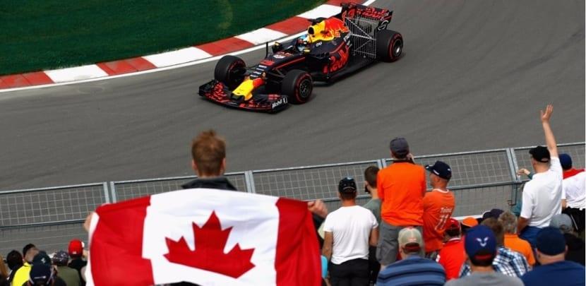 Red Bull en el GP de Canadá 2017