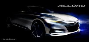 Teaser del Honda Accord de décima generación