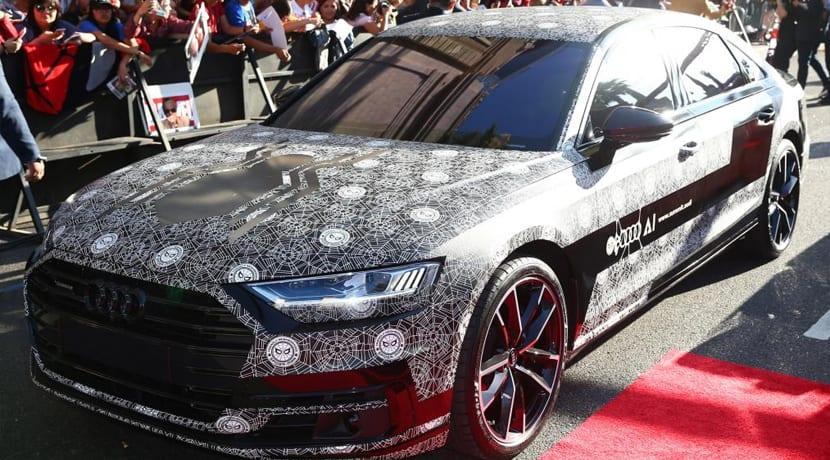 Audi A8 Premiere Spider-Man