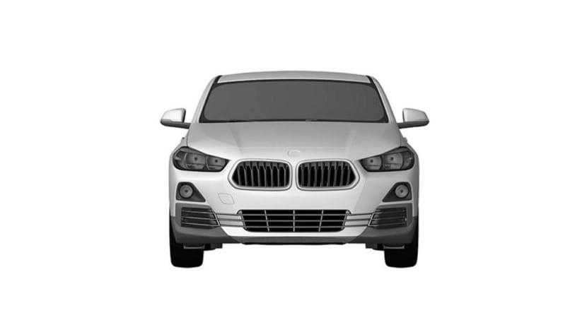 BMW X2 Patentes