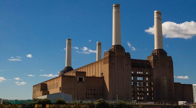 Battersea Reino Unido Contaminación