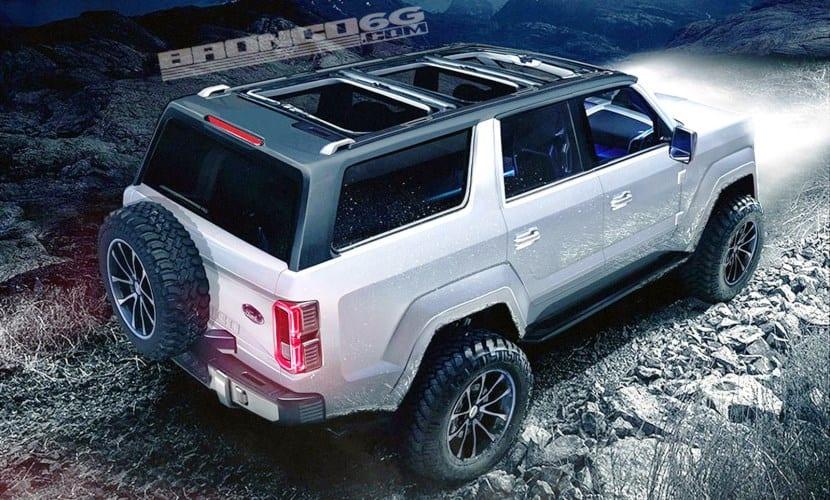 El Ford Bronco ya tiene varios renders de cómo podría ser