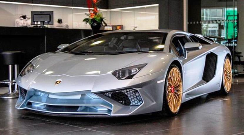 Lamborghini Aventador SV Coupé Finale