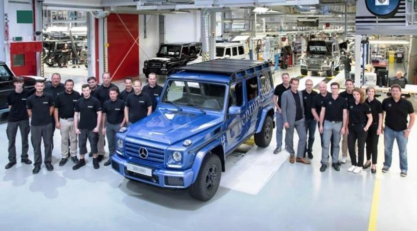 Mercedes-Benz Clase G 300 mil unidades